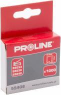Скоби для ручного степлера Proline 8 мм тип 140 (G) 1000 шт. 55408