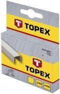 Скоби для ручного степлера Topex 10 мм тип 53 (А) 1000 шт. 41E310