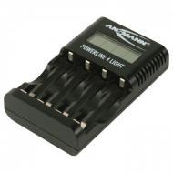 Зарядное устройство Ansmann Power Line 4 Light Черное (1001-0011)