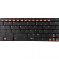 Bluetooth клавиатура Rapoo BT Ultra-slim Keyboard for iPad E6300 Black (1927418)