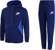 Костюм Nike B NSW TRK SUIT BF CORE 939626-478 р. S синий