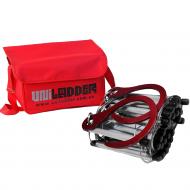 Универсальная спасательная лестница Uniladder 2L-1000 Silver (2d-144)