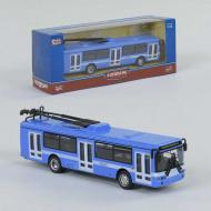 Инерционный троллейбус Play Smart 6407В Металопластик Синий (2-53446)