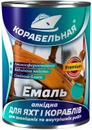 Емаль КОРАБЕЛЬНАЯ алкідна ПФ-115 білий глянець 0,9кг