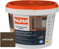 Лазурь Aura® ColorWood Aqua полисандр полумат 0,07 л