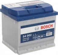 Акумулятор автомобільний Bosch 6СТ-52 (S4 002) 52А 12 B «+» праворуч
