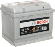 Акумулятор автомобільний Bosch 6СТ-63 (S5 006) 63А 12 B «+» праворуч