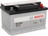 Акумулятор автомобільний Bosch 6СТ-70 (S3 007) 70А 12 B «+» праворуч