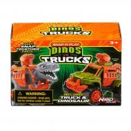 Ігровий набір Road Rippers Машинка та динозавр T-Rex grey 20071