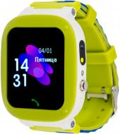 Смарт-часы AmiGo GO004 Splashproof Camera+LED green (856042)