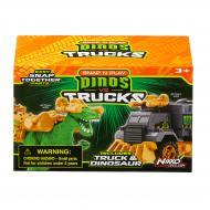 Ігровий набір Road Rippers Машинка та динозавр Raptor green 20075