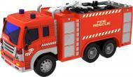 Пожежна машина Dave Toy Junior Trucker 28 см зі світлом та звуком 1:16 33016