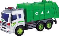 Сміттєвоз Dave Toy Junior Trucker 28 см зі світлом та звуком 1:16 33018