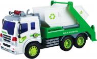 Сміттєвоз Dave Toy Junior Trucker Будівельний 28 см зі світлом та звуком 1:16 33026