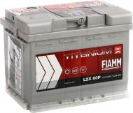 Акумулятор автомобільний FIAMM Titanium PRO L2X 60P 60А 12 B «+» ліворуч