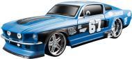 Автомодель Maisto 1:24 1967 Ford Mustang GT 81223 met. blue