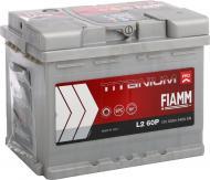 Акумулятор автомобільний FIAMM Titanium PRO L2 60P 60А 12 B «+» праворуч