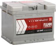Акумулятор автомобільний FIAMM Titanium Pro L2 64P 64А 12 B «+» праворуч