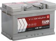 Акумулятор автомобільний FIAMM Titanium PRO L3B 75P 75А 12 B «+» праворуч