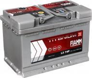 Акумулятор автомобільний FIAMM Titanium PRO L3 74P 74А 12 B «+» праворуч