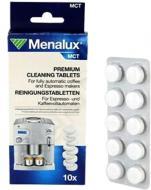 Таблетки Menalux от накипи для автоматических кофемашин