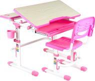 Комплект парта и стул-трансформер FunDesk Lavoro Pink