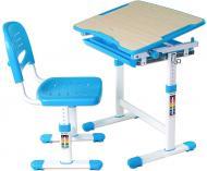 Комплект парта и стул-трансформер FUNDESK Piccolino Blue