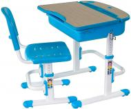 Комплект парта і стул-трансформер FUNDESK Capri Blue