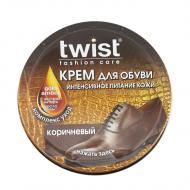 Крем Twist Fashion для обуви в банке 50 мл коричневый
