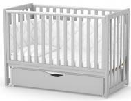 Кроватка детская Veres ЛД13 серый 13.1.1.20.32