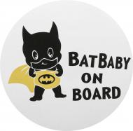 Наліпка TERRAPLUS BatBaby on board