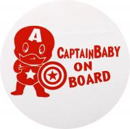 Наліпка TERRAPLUS CaptainBaby on board