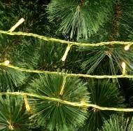 Гірлянда лінійна зовнішня LED 300 ламп 30 м жовта