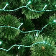 Гірлянда лінійна зовнішня LED 300 ламп 30 м зелена