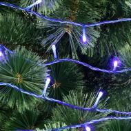 Гірлянда лінійна зовнішня LED 300 ламп 30 м блакитна