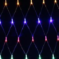 Електрогірлянда-сітка внутрішня вбудований світлодіод (LED) 160 ламп 1,8м різнокольорова QC2029