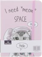 Блокнот Видатні звірі космонавт 10,5x14,5 см