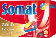 Таблетки для ПММ Somat Gold 20 шт.
