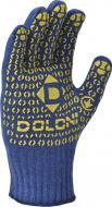 Рукавички Doloni з покриттям ПВХ крапка XL (10) 646