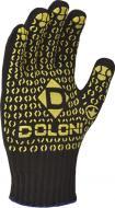 Рукавички Doloni з покриттям ПВХ крапка XL (10) 667