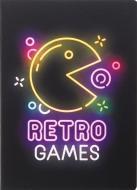 Блокнот Light retro game