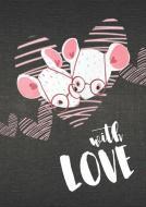 """Арт-нотатник """"With love"""", one A6 Uprofi plan"""