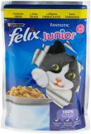 Корм Felix Junior Fantastic з куркою у желе 100 г