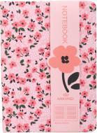 Блокнот Перші квіти 10,5x14,5 см рожевий