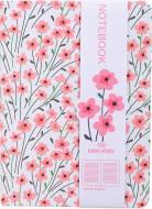Блокнот Перші квіти 10,5x14,5 см білий