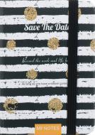 Книга для нотаток Save the date (design 3) А6 80 аркушів