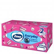 Серветки гігієнічні у коробці Zewa Everyday 100 шт.