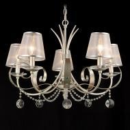 Люстра підвісна Victoria Lighting 5x40 Вт E14 сріблястий Alegria/SP5