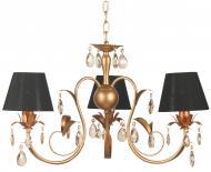 Люстра підвісна Victoria Lighting 3x40 Вт E14 бронза/чорний Lamier/SP3