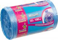 Мішки для сміття Добра господарочка міцні 35 л 100 шт. (4820086521024)